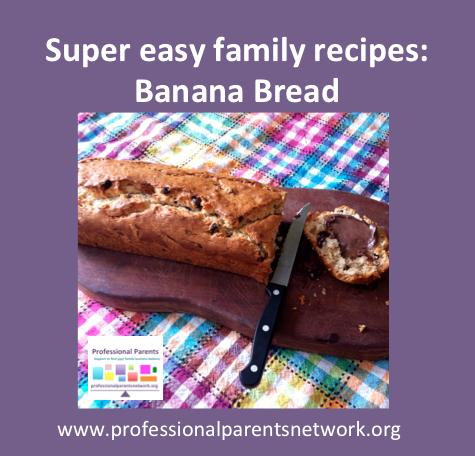 Super Easy Family Recipes: Banana Bread